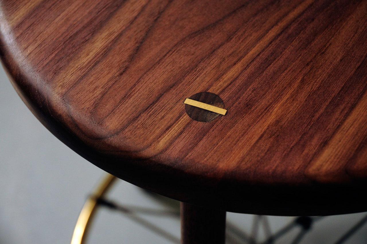 Walnut Findhorn Detail